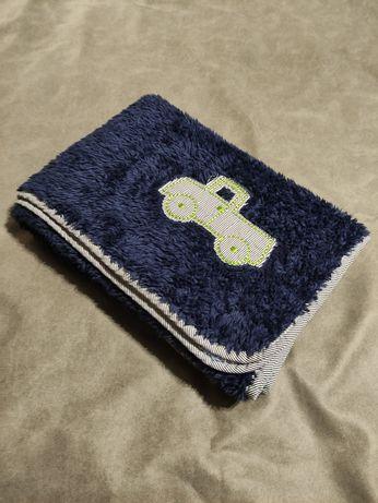 Детское теплое махровое одеяло плед
