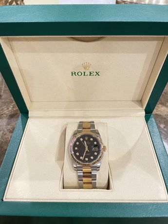 Rolex Datejust 36 mm Steel &18 k gold