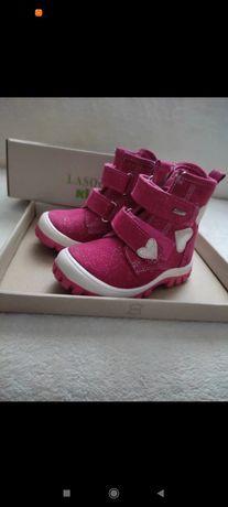 Różowe, zimowe buciki Lasocki Kids 21