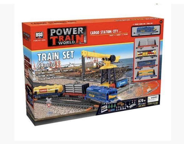 Железная дорога с подьемным краном 2082 Power Train