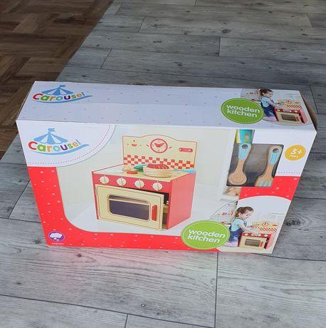 Kuchenka kuchnia drewniana piekarnik dla dzieci Carousel nowy