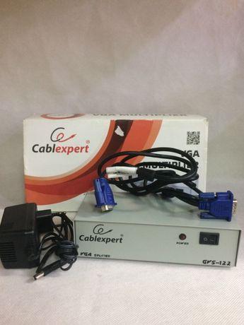splitter -rozdzielacz monitorów cabl xpert VGA GV 122