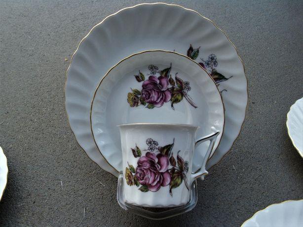 Filiżanka trio niemiecka porcelana Bavaria