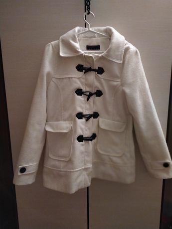 Biały płaszcz New Look rozmiar 42