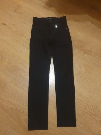 Штаны брюки лосины YUKE 6 7 лет 116 122 рост школьные темно-синие