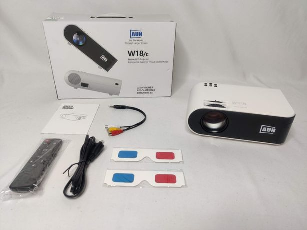 [NOVO] Projector 2800 Lumens 1080P FULL HD LED