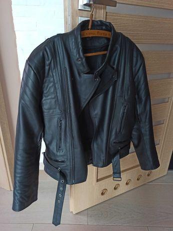 Ramoneska kurtka motocyklowa, rozmiar M - stan bardzo dobry!