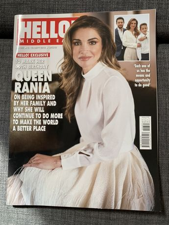 Hello middle east po angielsku, jezyk angielski magazyn rodzina krolew