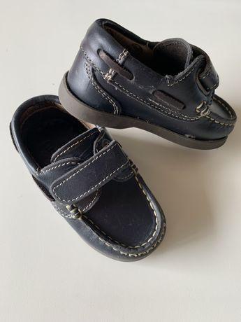 Sapato vela pele N.21