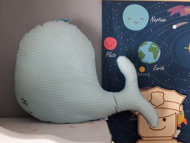Poduszka Wieloryb Jak Nowa Minky Pokój Dziecka Dziecko