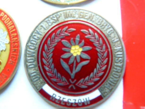 Odznaka pins Od Dowódcy 1 BSP rzeszów