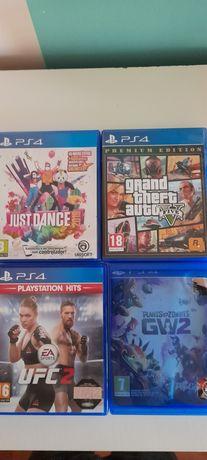 Jogos PS4 vários