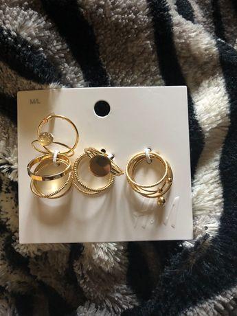 Pierścionki złote H&M