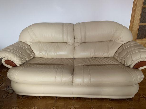Бу Кожаный диван (высокое качество)