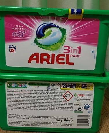 Гель  капсулы для стирки Ariel 3in1