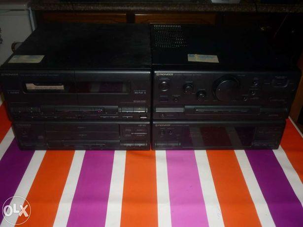 Hifi Pioneer / Módulos / Duplo Cd / Duplo Deck / Rádio