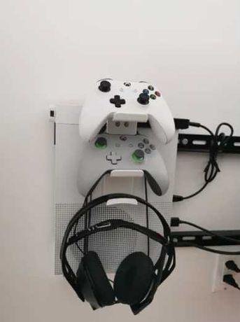 Suporte de comando e headphones para Playstation 5 ou Xbox