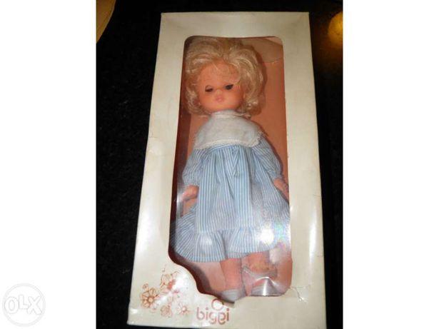 Vintage Biggi Doll - Boneca de colecção Biggi - anos 80.