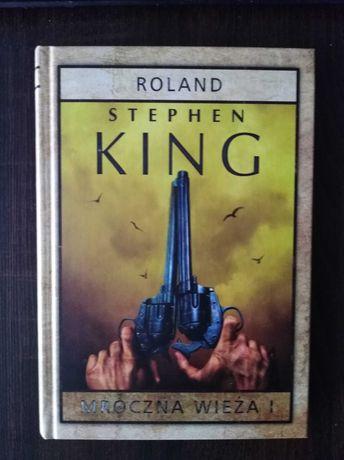 Mroczna wieża I. Roland - Stephen King twarda oprawa