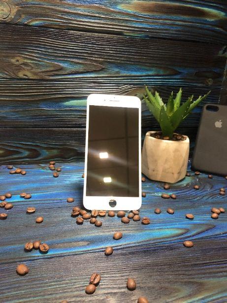 Оригинальный дисплей iPhone 8 Plus Black/White ГАРАНТИЯ. СЕРВИС