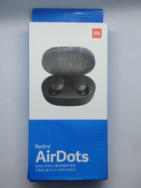 Nowe słuchawki Xiaomi Redmi AirDots pchełki bezprzewodowe TWS