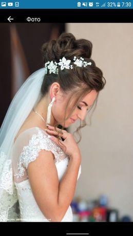 Серьги, украшение на свадьбу