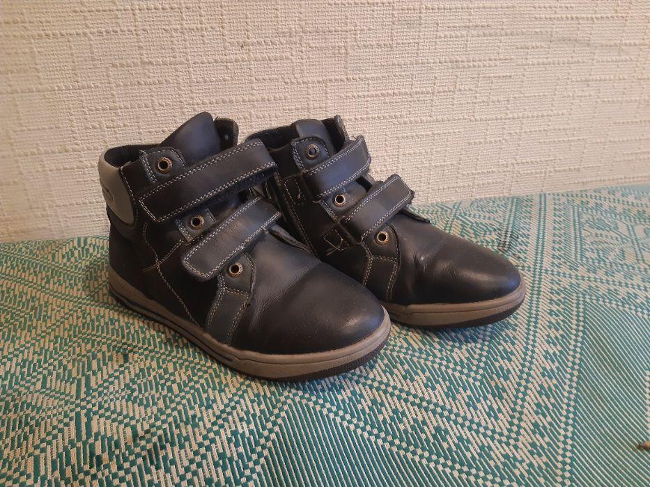 Ботинки демисезонные, натуральная кожа, размер 36 Запорожье - изображение 1