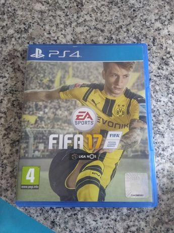 Jogos ps4 FIFA 17 e 18