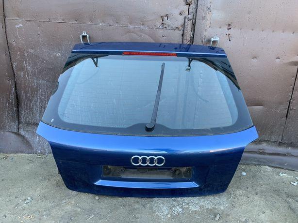 Крышка багажника ляда Ауди А3 Audi A3 в сборе со стеклом и обезшумкой