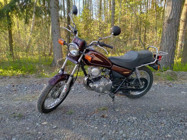 Yamaha SR 125 zarejestrowana, na kat. B, stan bdb