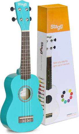 Stagg US-OCEAN - ukulele sopranowe + pokrowiec gratis