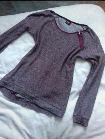 Sweterek fiolet ONLY