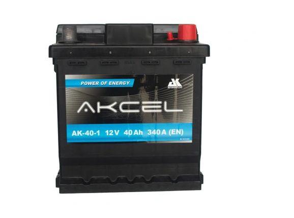 Akumulator 40Ah 340A Akcel