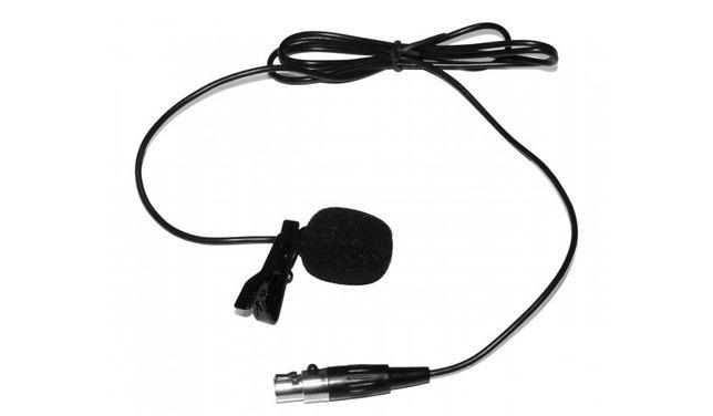 Mikrofon krawatowy lavalier Novox ML 01 mini XLR czarny