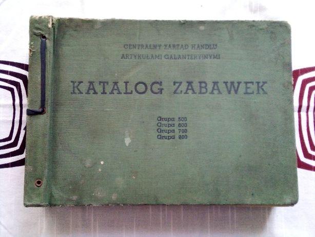 Katalog zabawek z PRL - Lata 50. XX w.
