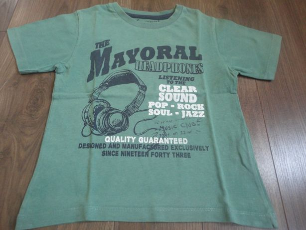 TAM.6A (116cm) - T-Shirt MAYORAL verde
