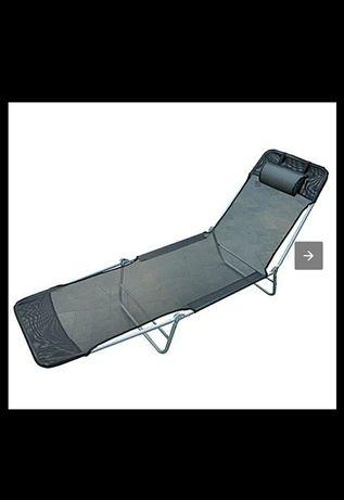 Leżak relaksacyjny rozkładany