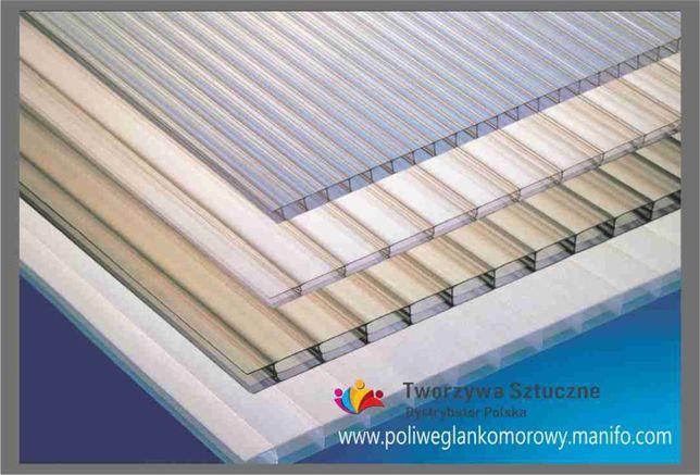 Poliwęglan komorowy 2100x4000 10, 16mm dach taras pergola zadaszenie