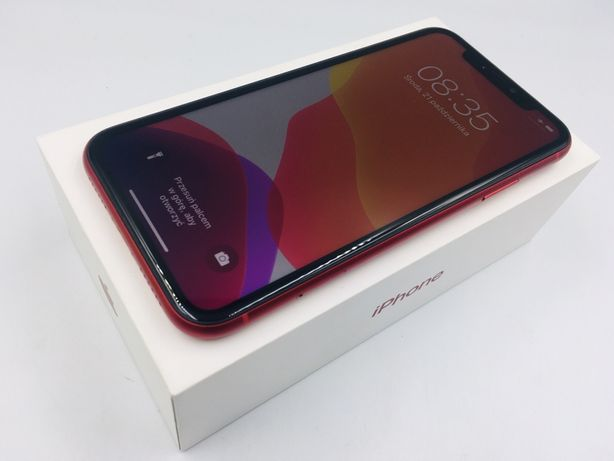 iPhone 11 128GB RED • bateria 100% • GWAR 1 MSC • AppleCentrum