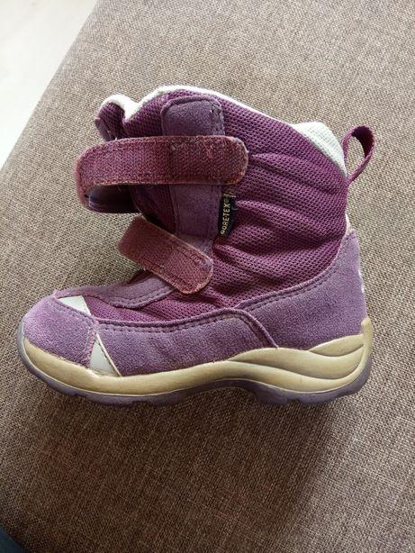 Зимові чобітки для дівчинки.Зимние сапожки для девочки.24 р.