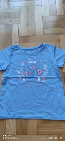 Niebieski t-shirt firmy COOL CLUB, rozmiaru 128