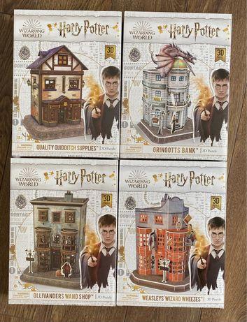 Puzzle 3D Harry Potter zestaw
