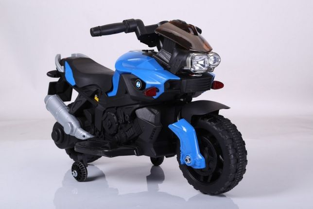 Pojazd Motor Motorek na akumulator SmartBike Niebieski