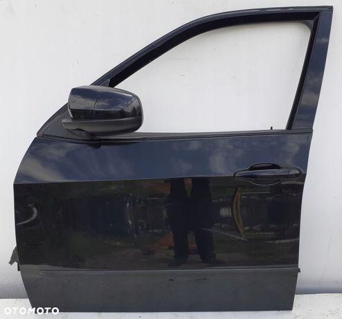 BMW X5 E70 DRZWI LEWY PRZÓD BLACK SAPPHIRE 08R