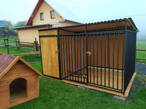 Kojec z domkiem wymiar 3/2m. kojce ,wiaty ,drewutnia,składzik i inne