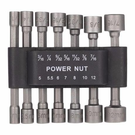 Pontas Bits / Chave caixa para aparafusadora