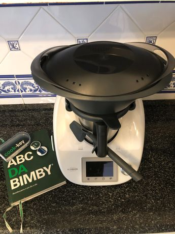 Bimby Tm5 mais cook-key mais dois livros chave