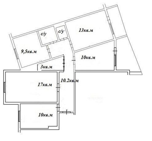 Продам 4-х комнатную квартиру на Академика Вильямса/ рынок Южный