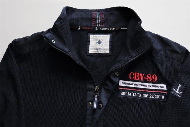 Męska bluza Christian Berg SAILING r. XL jak nowa rozpinana kardigan