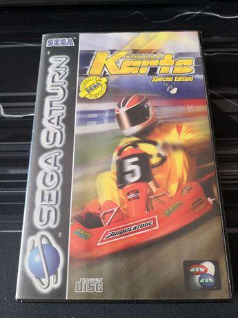 Formula Karts Special Edition Sega Saturn